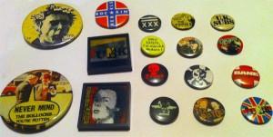 les badges anciens d'éric