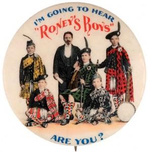 Premier badge de groupe fabriqué en 1901
