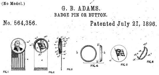 Brevet du badge - 1896