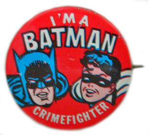 Badge Batman 1966