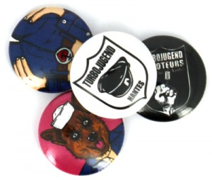 Badges Turbojugend saboteurs de nantes