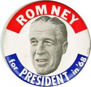 Badge Romney 1968