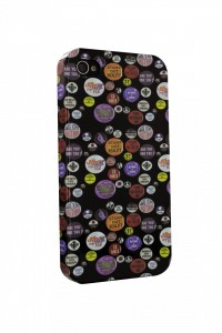 Coque pour iphone4 badges