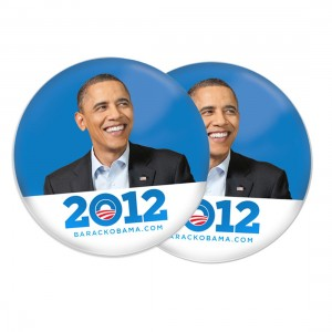 Badge Obama 2012