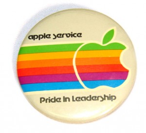 Badge apple