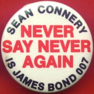 Badge James Bond 1983