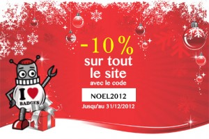 Promo Noel Badges25mm