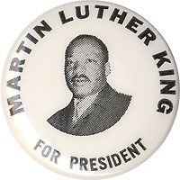 Martin Luther King badge25mm 2 Badge Martin Luther King