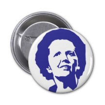 Margaret Thatcher badges25mm1 Margaret Thatcher et les badges