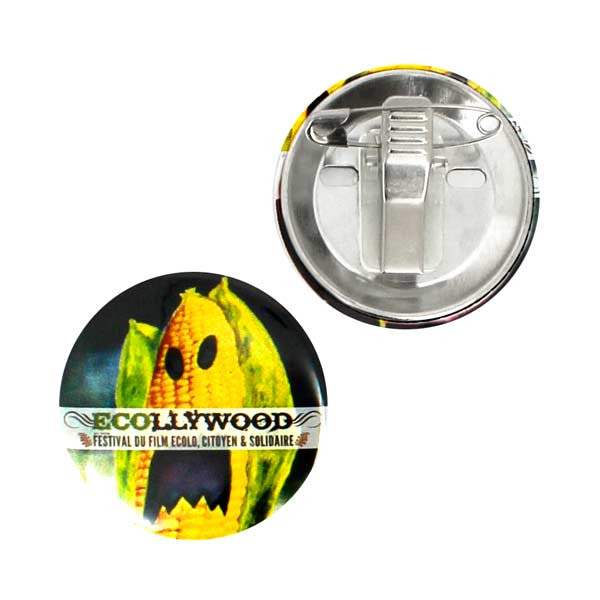Badges Personnalisés 45mm Attache Crocodile